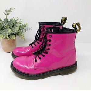Dr Martens Delaney Pink Ankle Boot sz 5